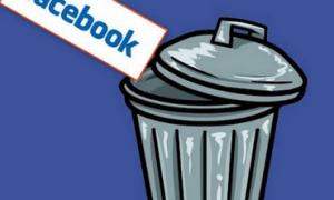 Видалити сторінку в фейсбук з мобільного, або компьютера