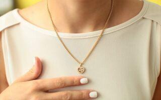 Як вибрати жіночу ланцюжок із золота або срібла