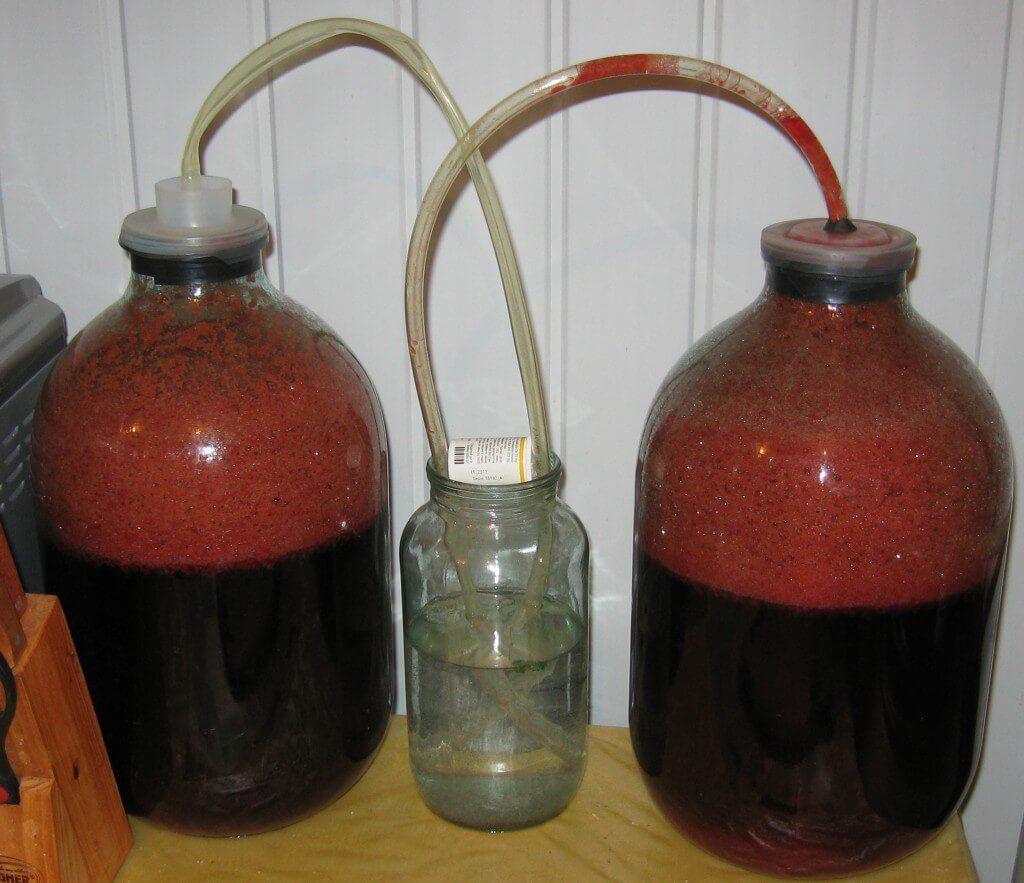 Процесс приготування вина