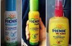 Засоби Пікнік від комарів для дітей і дорослих