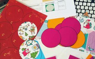 Красиві і оріганільние новорічні кулі з паперу своїми руками з покроковою інструкцією