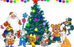 Короткі новорічні віршики для дітей 3-4 років на ранок