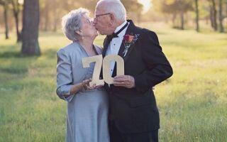 70 років весілля : благодатна річниця спільного життя в шлюбі