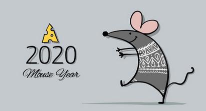 Новий 2020 рік щура